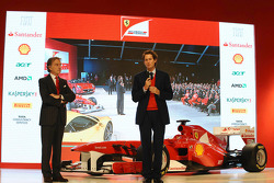 Luca di Montezemolo, Ferrari-Präsident; John Elkann