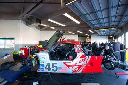 #45 Flying Lizard Motorsports Porsche Riley