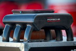 #45 Flying Lizard Motorsports Porsche Riley engine part