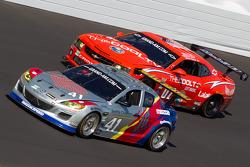 #41 Dempsey Racing Mazda RX-8: Dane Cameron, James Gue, Ian James, Don Kitch Jr., Dave Lacey, #07 Banner Racing Camaro GT.R: Eric Curran, Oliver Gavin, Bruce Ledoux, Gunter Schaldach