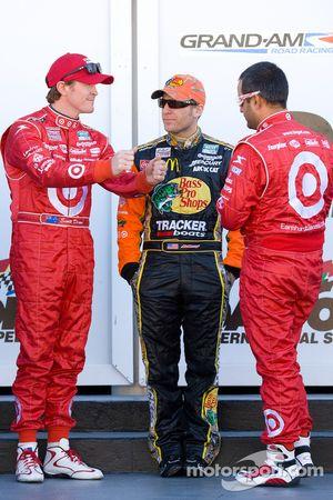 Rolex 24 At Daytona Champions foto: Scott Dixon, Jamie McMurray en Juan Pablo Montoya