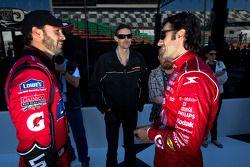 Rolex 24 At Daytona Champions photo: Jimmie Johnson and Dario Franchitti