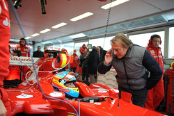 Fernando Alonso, Scuderia Ferrari ve Luca di Montezemolo, Scuderia Ferrari, FIAT Yönetim Kurulu Başk