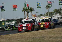 #195 RSR Motorsports Mini Cooper S: VJ Mirzayan, Chris Sarian