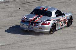 #09 Trade Manage Racing Boxster: Steven Goldman, Sam Schultz van de baan