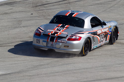 #09 Trade Manage Racing Boxster: Steven Goldman, Sam Schultz off the track