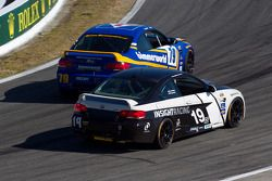#79 BimmerWorld Racing BMW M3 Coupe: James Clay, Seth Thomas, #19 Insight Racing BMW M3 Coupe: Paul