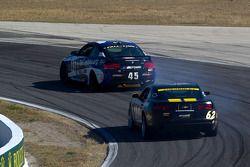 #45 Fall-Line Motorsports BMW M3 Coupe: Al Carter, Hugh Plumb, #62 Mitchum Motorsports Camaro GS.R: Lawson Aschenbach, Joey Atterbury