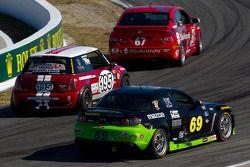 #69 Pirate Motorsports Mazda RX-8: M Allen Milarcik, David Pintaric