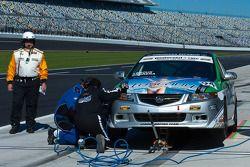 #94 LRT Racing Acura TSX: Kiko Cabrera, Jose Leroux