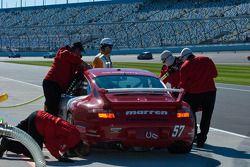 #57 Marren Motor Sports Inc. Porsche 997: Bob Beede, Joe Toussaint