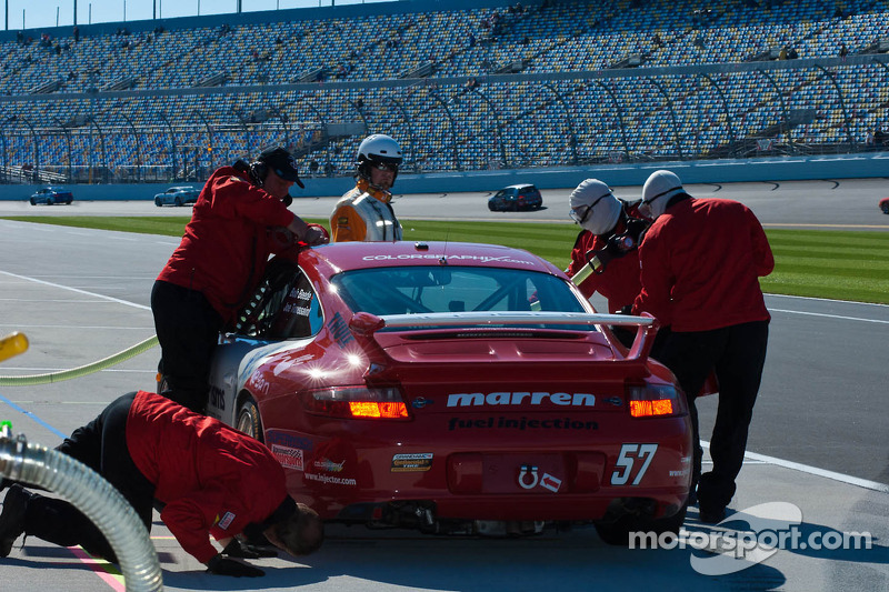#57 Marren Motor Sports Inc. Porsche 997: Bob Beede, Joe Toussaint