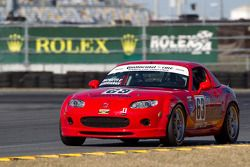 #63 Flatout Motorsports Mazda MX-5: Steve Gorriaran, Craig McHaffie, Hugh McHaffie