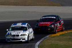 #24 V-Pack Motorsport BMW 330: Ray Mason, Adam Pecorari, #14 Doran Racing BMW 128i: Tim Bell, BJ Zac