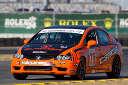 #75 Compass360 Racing Honda Civic SI: Ryan Eversley, Benoit Theetge