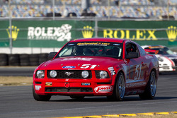 #51 Roush Performance Ford Mustang GT: Shelby Blackstock, Roly Falgueras