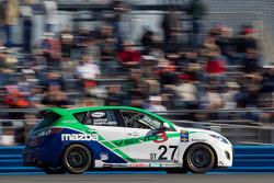 #27 Freedom Autosport Mazda Speed 3: Michael Cooper, Brad Rampelberg