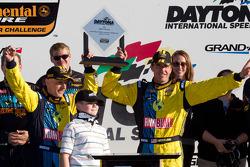 GS victory lane: race winners Nick Longhi and Matt Plumb