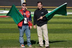 Speedweeks 2011 lancering: Daytona International Speedway President Joie Chitwood III en Mayor of Sp