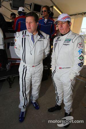 Zak Brown en Martin Brundle