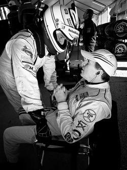 Mark Blundell et Martin Brundle