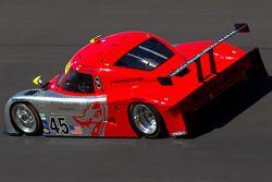 #45 Flying Lizard Motorsports Porsche Riley: Jörg Bergmeister, Patrick Long, Seth Neiman, Johannes van Overbeek
