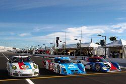 Speedweeks 2011 lancering: #59 Brumos Racing Porsche GT3: Andrew Davis, Hurley Haywood, Leh Keen, Ma