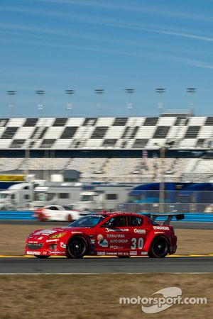 #30 Racers Edge Motorsports Mazda RX-8: Jade Buford, Gary Jensen, Mark Jensen, Michael Marsal, Scott