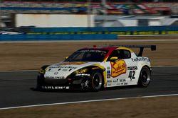 #42 Team Sahlen Mazda RX-8: Memo Gidley, Joe Nonnamaker, Wayne Nonnamaker, Will Nonnamaker, Joe Sahl