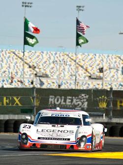 #23 United Autosports avec Michael Shank Racing Ford Riley: Mark Blundell, Zak Brown, Martin Brundle
