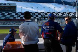 SunTrust Racing pits