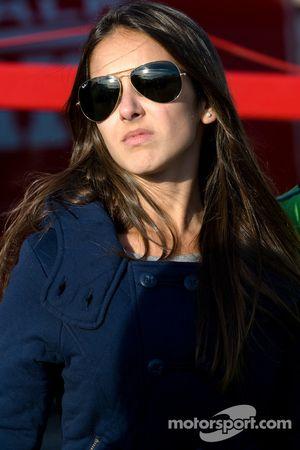 The lovely girlfriend of Ricardo Zonta