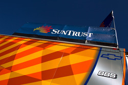 SunTrust Racing transporter