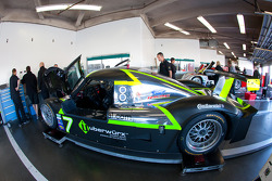 Starworks Motorsport garage area