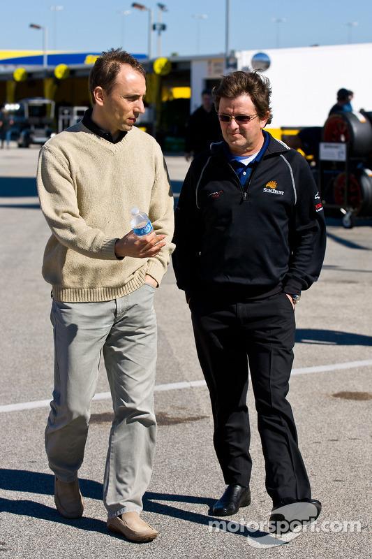 Max Angelelli et Wayne Taylor
