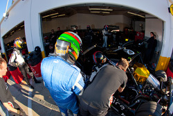 Driver change practice at Level 5 Motorsports: Christophe Bouchut and Luis Diaz