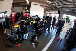 Driver change practice at Level 5 Motorsports