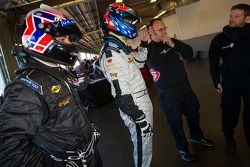 Entraînement au changement de pilote chez Level 5 Motorsports : Raphael Matos and Ryan Hunter-Reay