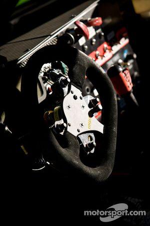 #7 Starworks Motorsport Ford Riley steering wheel