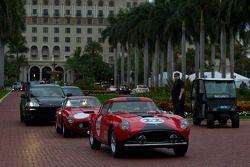 Une Ferrari 250 GT se dirige vers les rues de West Palm Beach