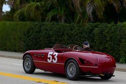 Une Ferrari 166 MM dans les rues de West Palm Beach