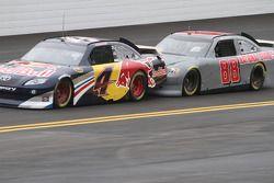 Kasey Kahne, Red Bull Racing Team Toyota et Dale Earnhardt Jr., Hendrick Motorsports Chevrolet