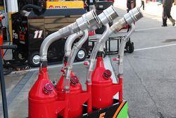 Des bouteilles de gaz
