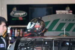 Le casque de Dale Earnhardt Jr., Hendrick Motorsports Chevrolet