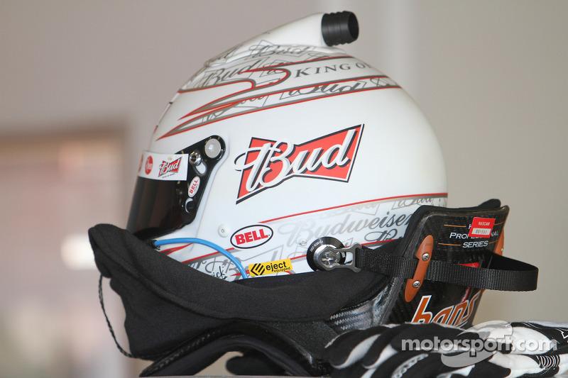 Le casque de Kevin Harvick, Richard Childress Racing Chevrolet