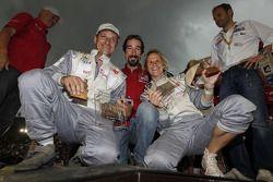 Podium : 16e place pour la catégorie voitures, Isabelle Patissier et Thierry Delli Zotti