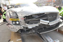 #8 Black Falcon Mercedes Benz SLS AMG GT3: Ralf Schall, Tim Pappas, Bret Curtis, David Horn au stand