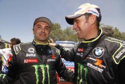 Ricardo Leal dos Santos y Stéphane Peterhansel