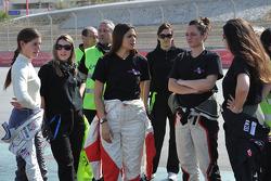 Cyndie Allemann, Amandine Foulard, Jade Handi, Corentine Quiniou