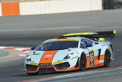 #83 Gulf Team First Lamborghini LP560: Fabien Giroix, Frédéric Fatien, Roald Goethe, Mike Wainwright